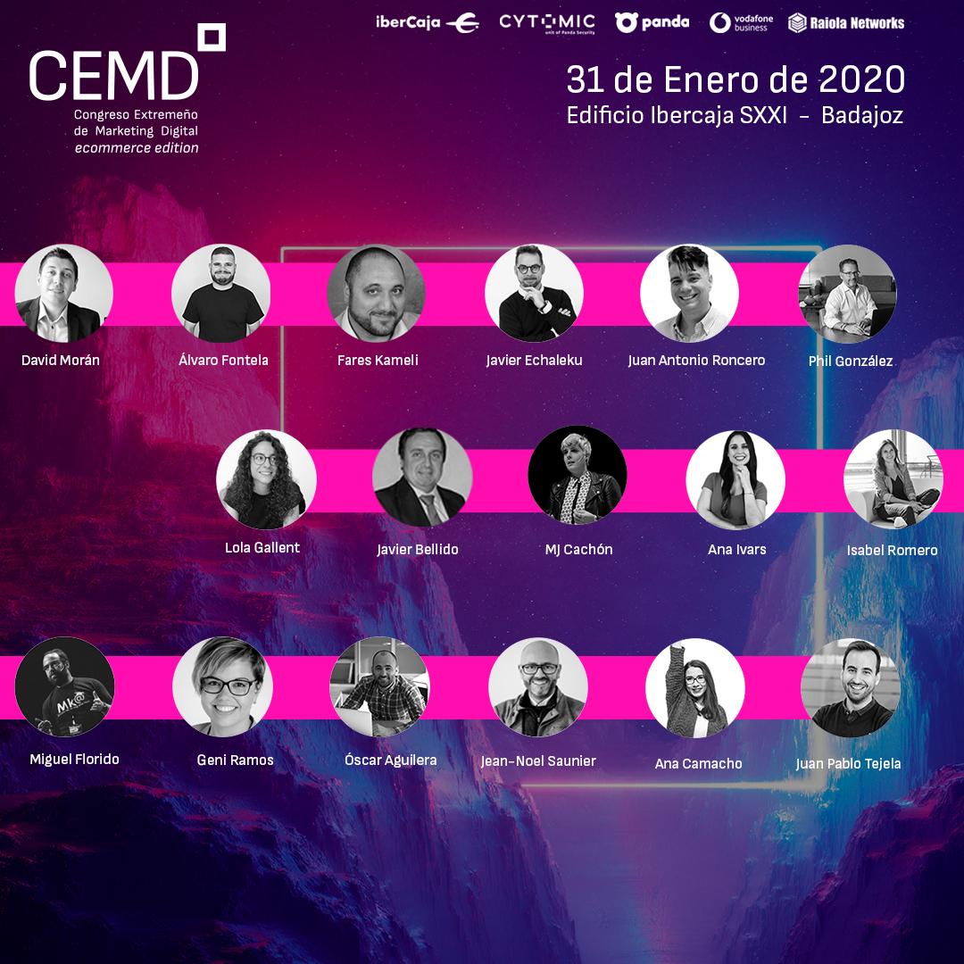 Ponentes #CEMD2020