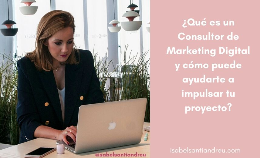que es un consultor de marketing digital